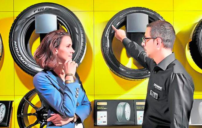 Sustitución parcial de los neumáticos