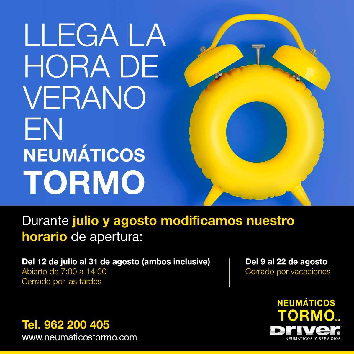210701V3_NEUMÁTICOS-TORMO_HORARIO-DE-VACACIONES